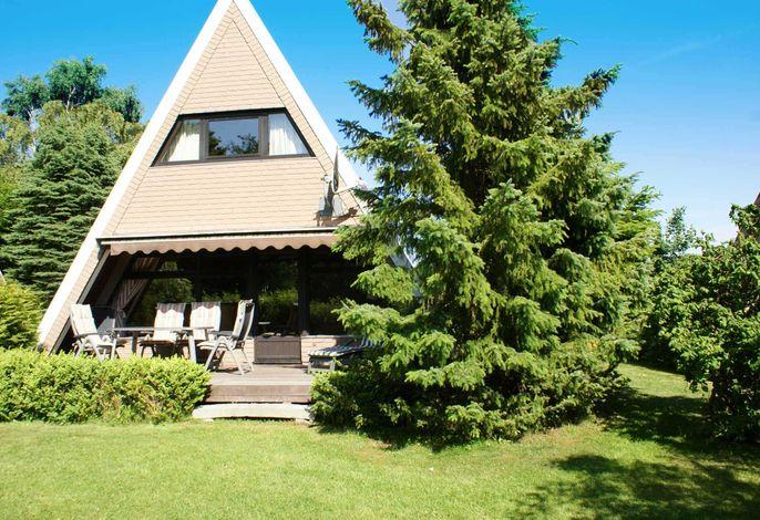 Zeltdachhaus im Grünen- mit W-LAN - sonnige Terrasse