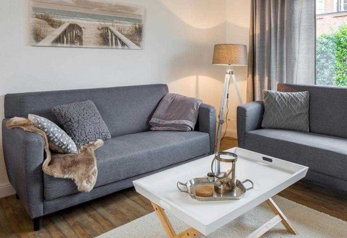 WR/B- Blick auf die Sitzecke im Wohnbereich