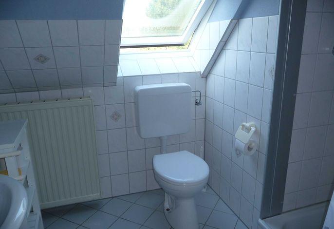 modenres Bad Dusche/WC mit Fenster