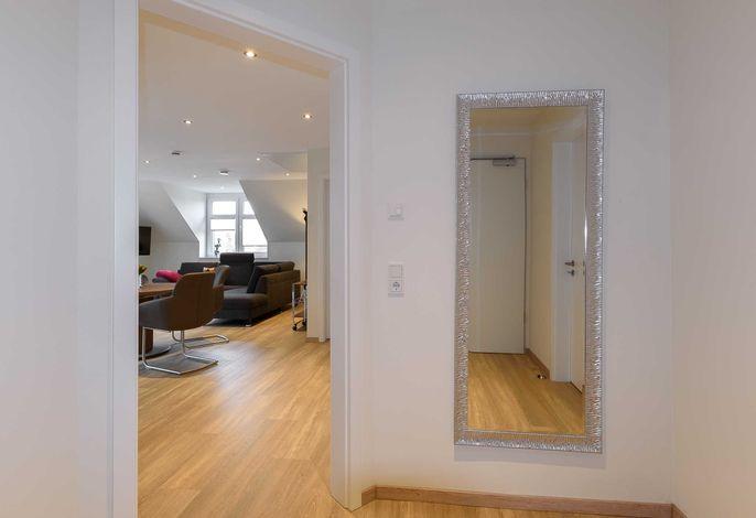 Eingang zur Wohnung 3