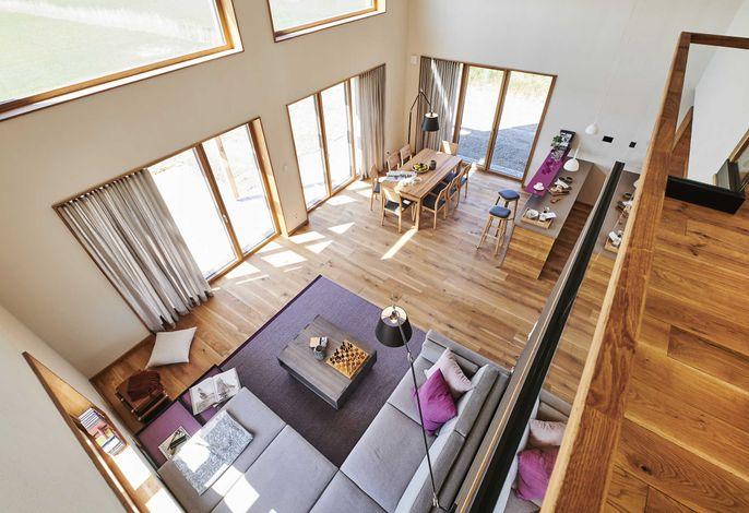 Wohnraum von oben