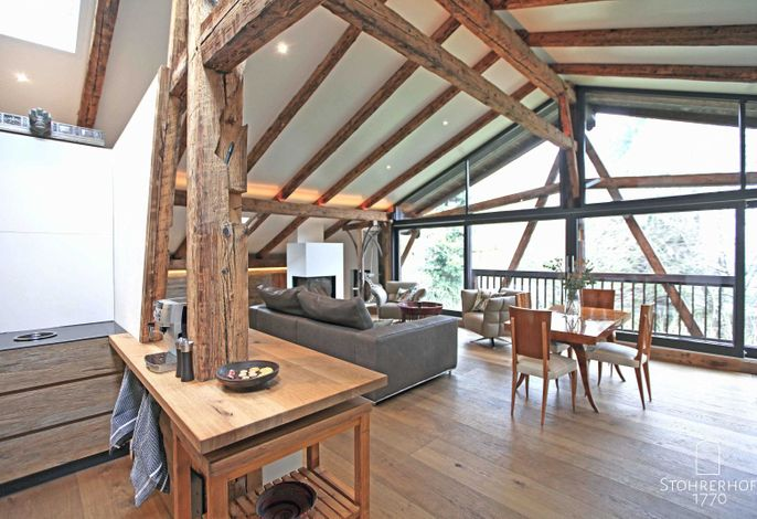 5 Sterne - Penthouse am Ammersee bis 4 Personen