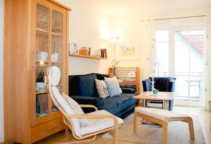 Barendorf Whg. Föllenbach- Blick auf das gemütliche Sofa