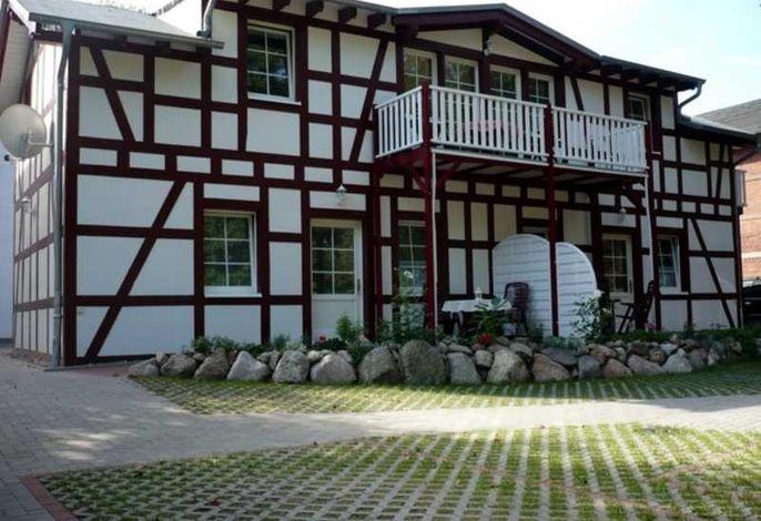Haus Anna mit Balkon von Wohnung 10 Nordseite