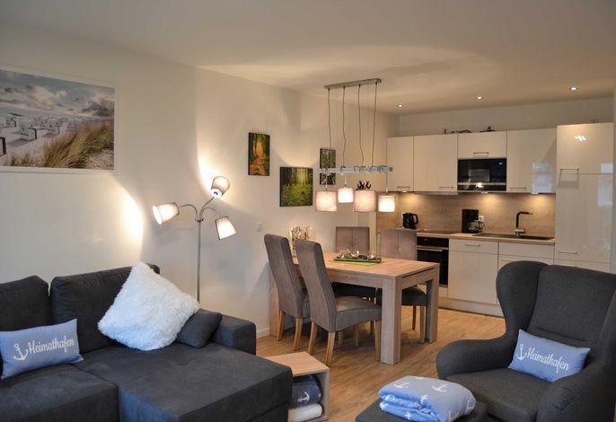 """Appartement """"Ankerplatz""""   - mit 2 SZ und 2 Balkonen"""