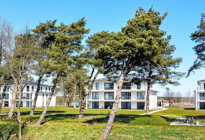 Terrassenwohnung Haffparadies - Oase am Haff