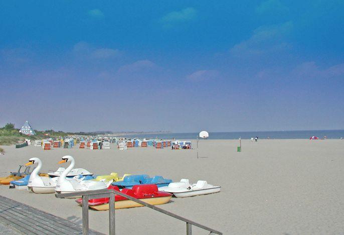 Ferienwohnung zur Seeseite - 200 m zum Strand - sehr sonnig