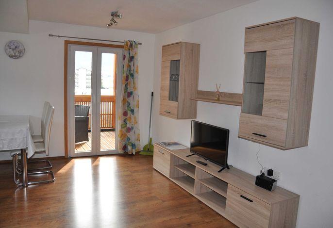 Apartment Kanisfluh Wohnzimmer