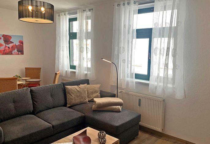 Wohnzimmer - 2021 renoviert und neu ausgestattet