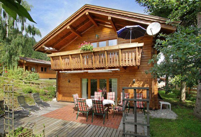Chalet Villa Rosa im Hotelgarten - 140 Quadratmeter - 2 Schlafzimmer - Urlaub mit Familie in Kitzbühel