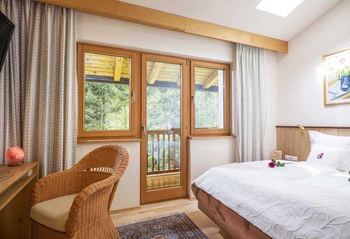 Grand Lit Zimmer für 1 - 2 Personen - Wanderurlaub in den Kitzbüheler Alpen