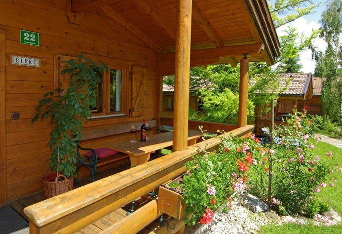 Ferienhaus Birke im Hotelgarten - Haus mit 2 Schlafzimmern - 2 Bädern