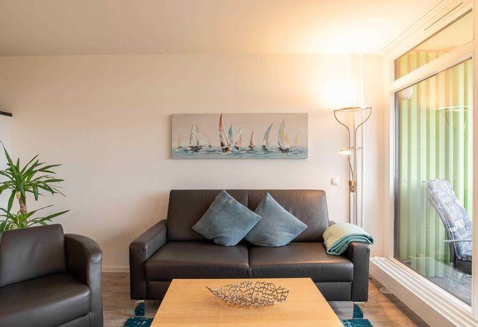 Ferienwohnung Achterdeck Couch