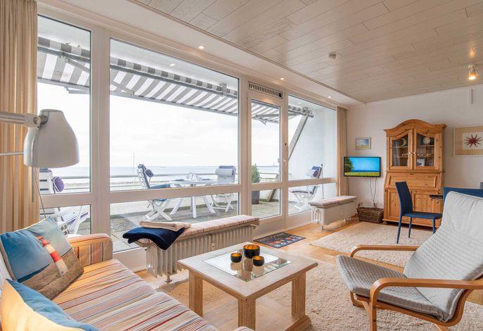 Ferienwohnung Seeblick Blick auf die Kieler Foerde