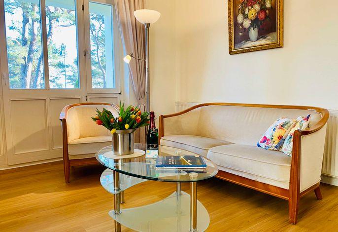 Willkommen in der Villa Caprivi, Wohnung 3!
