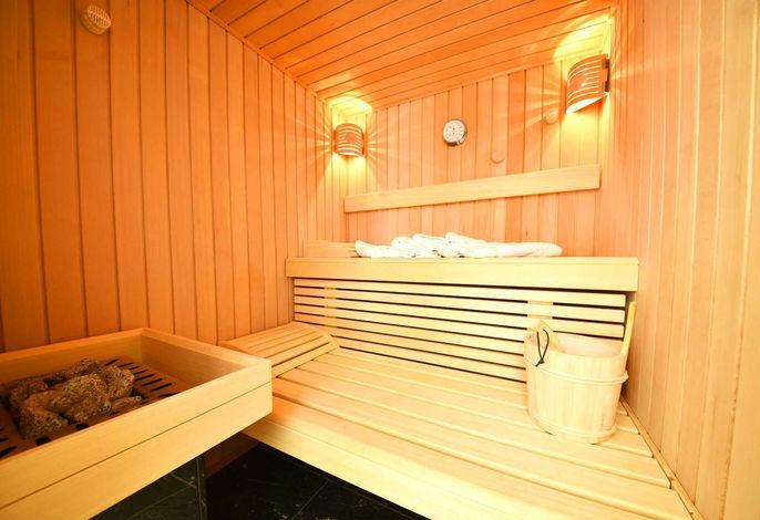 wohnungseigene Sauna