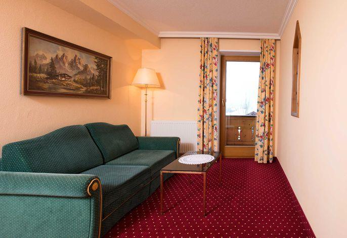 Junior Suite Lanerköpfel Wohnraum