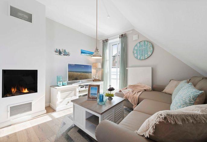 gemütlicher Wohnbereich mit Sitzecke
