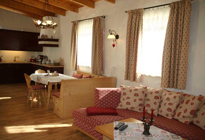 Liebevoll eingerichtete Suite