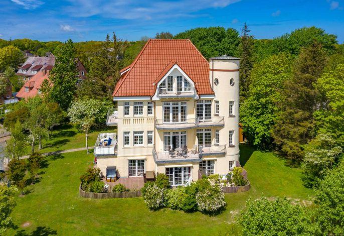 Haus Olhörn - Wohnung Leuchtturmblick - Wyk auf Föhr / Nordfriesische Inseln