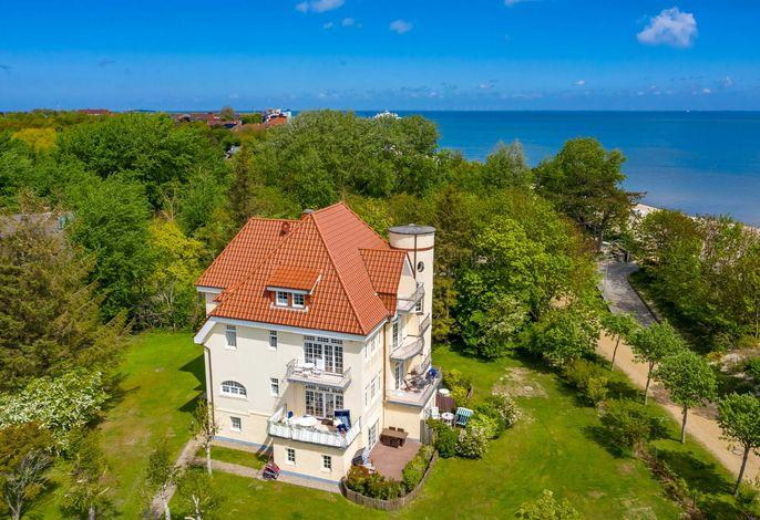 Haus Olhörn - Wohnung Leuchtturmblick