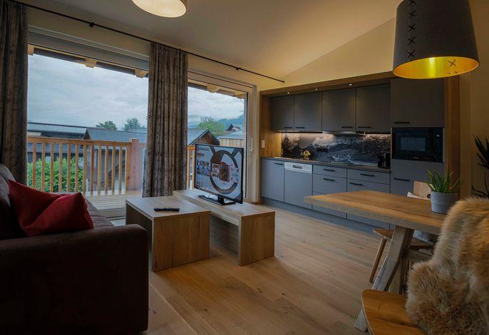 Premium Apart Kufstein mit Sauna - Wohnbereich