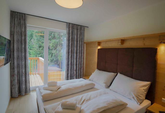 Grand Apart Stoder mit Sauna - Schlafzimmer