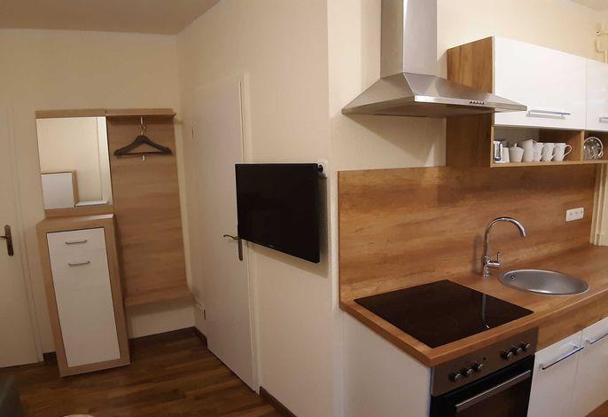Küche und TV