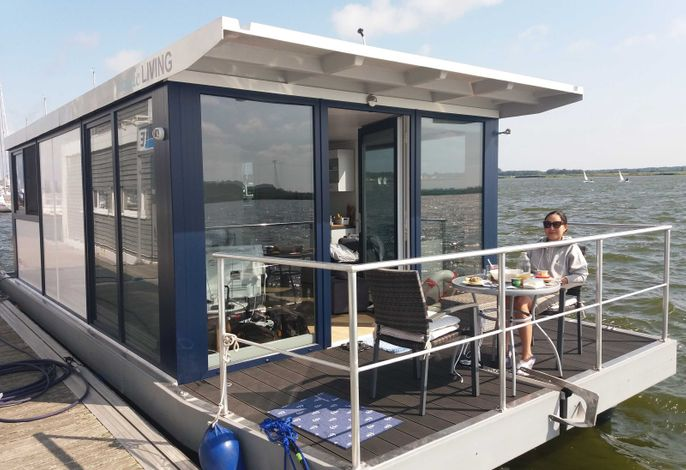 Hausboot Big Blue 30 m²