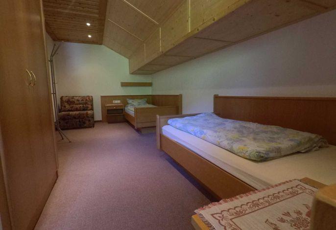 Ferienwohnung Einstein Schlafzimmer