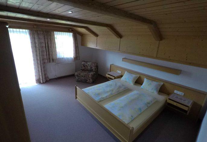 Ferienwohnung Gaißhorn Schlafzimmer