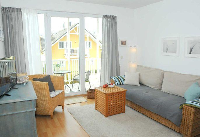 Wohnzimmer + Balkon