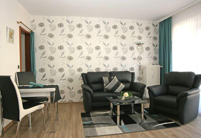 Gemütliches und modern eingerichtetes Wohnzimmer