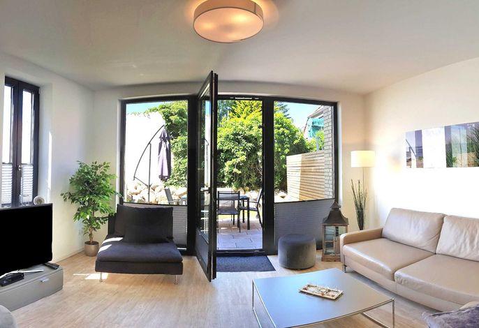 Ihr Ferienhaus Ostsee Perle 35 mit Terrasse