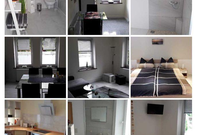 Collage Wohnung