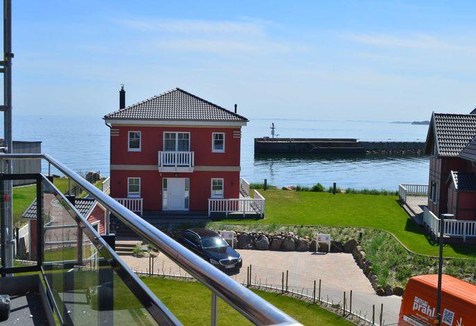App. Auf der Ostsee in Olpenitz mit Meerblick