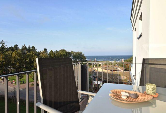 Balkon mit Blick auf´s Meer