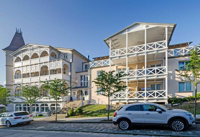 Appartementhaus Villa Sonneck im Stil der Bäderarchitektur