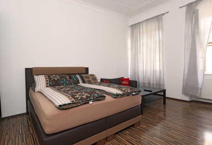 Auf diesem Bild sehen Sie unser Komfort Doppelzimmer.
