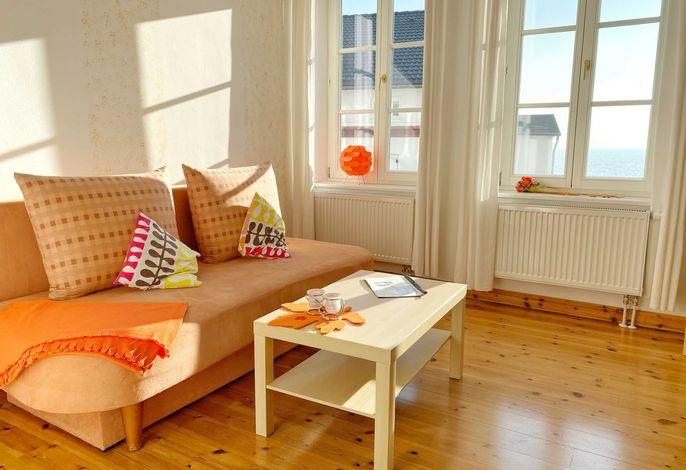 Wohnbereich Orange
