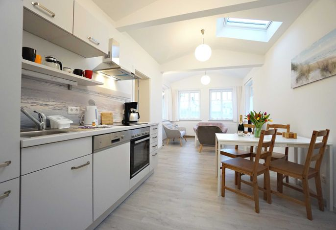 Kombinierter Wohn- Kochbereich