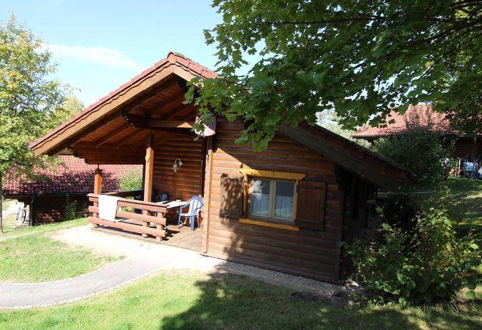Blockhütte 01 Blaumeise