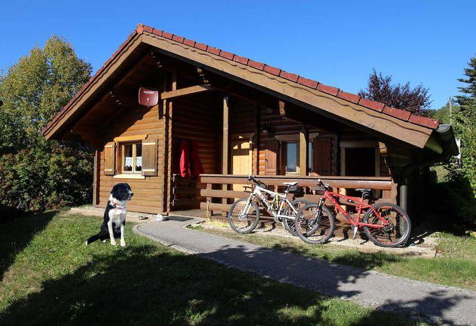 Blockhütte 24 Rotkehlchen