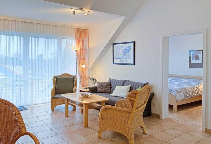 Herzlich willkommen in der Ferienwohnung 242 in der Residenz am Strand
