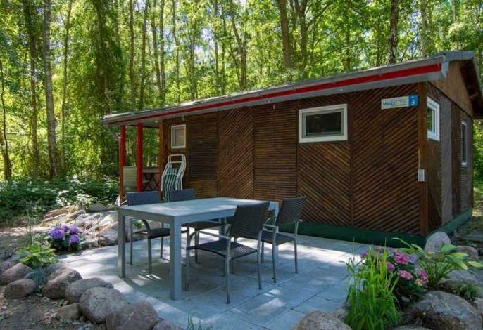 Ferienhaus 3 - Möblierte Terrasse und Klimaanlage