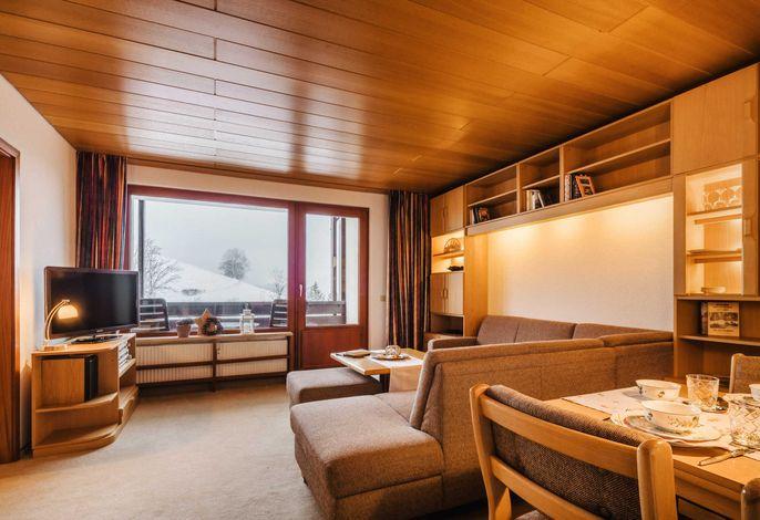 Ferienwohnung Bergschwalbe Sankt Andreasberg- Wohnzimmer