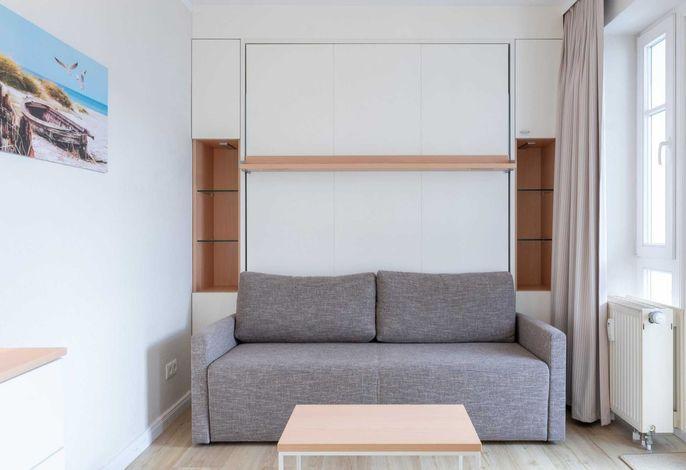kombinierter Wohn- Schlafbereich