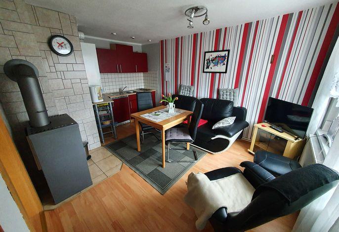 Wohnzimmer Ferienhaus 1