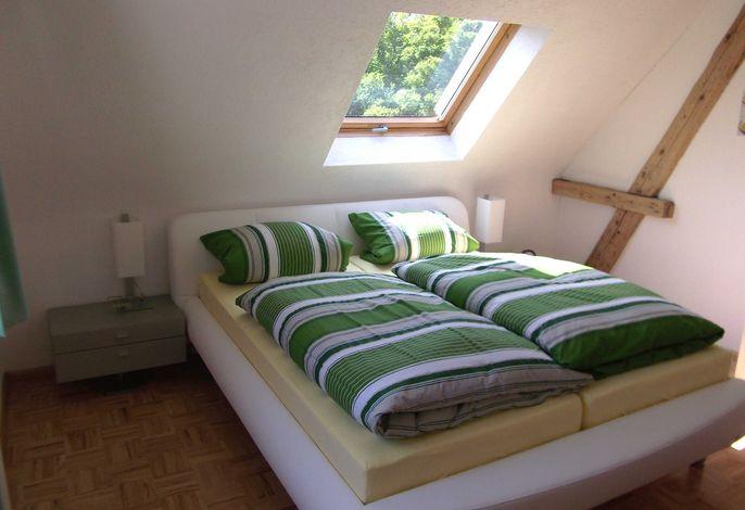 Schlafzimmer I, 200 x 200 cm