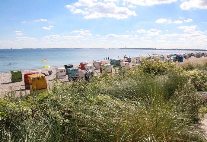 Meerblick-Ferienwohnung - direkt am Ostseestrand